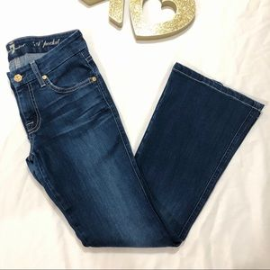 7 For All Mankind | 'A' Pocket Blue Jeans Size 26